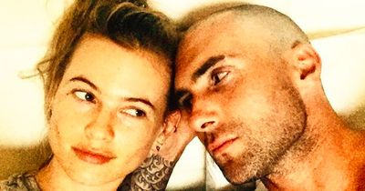Adam Levine`s Back Tattoo is finally completed