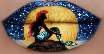 This Harry Potter and Disney lip art is the most beautiful thing you'll see today