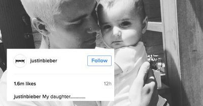 Justin Bieber just revealed he has a baby daughter!!!