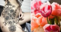 8 Beautiful bouquet tattoos every girl will love