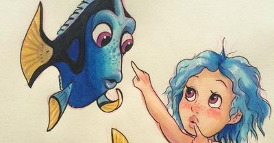 You'll love this artist's cute reimaginations of Disney characters as kids!