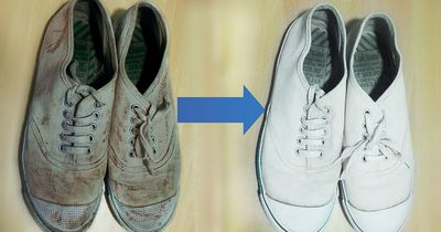 Here's how to make your dirty sneakers look brand new!