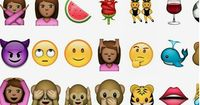 You will fall in love with the new range of emojis!